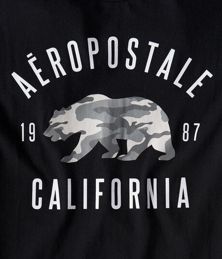 Aero Cali Camo Bear Graphic Tee