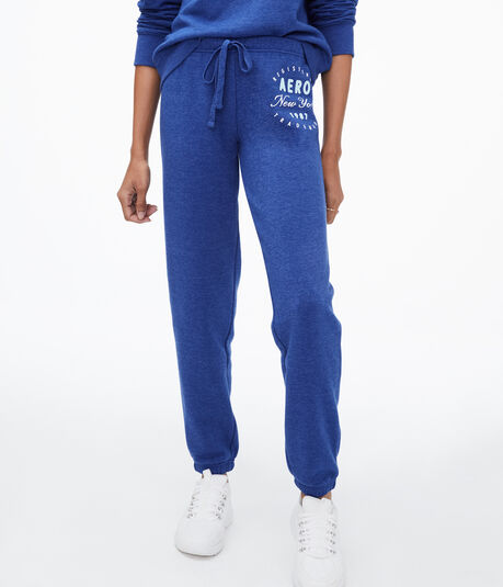 Aero New York Circle Cinch Sweatpants