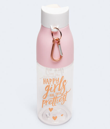 Happy Girls Are The Prettiest Water Bottle