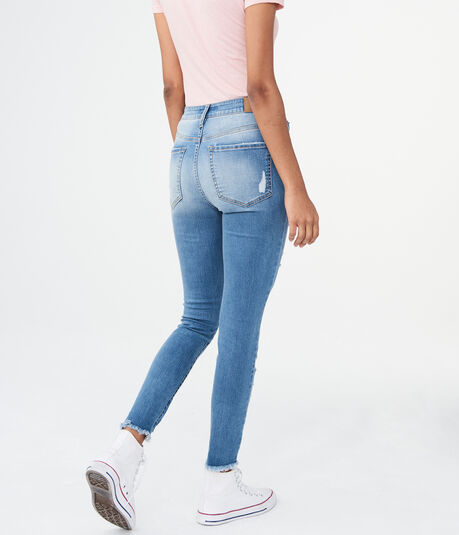 Seriously Stretchy Super High-Waisted Ankle Jegging