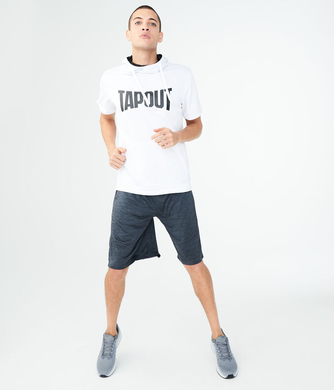 Tapout Short Sleeve Tempo Pullover Hoodie