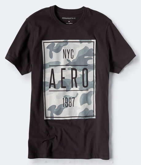 NYC Aero 1987 Camo Graphic Tee