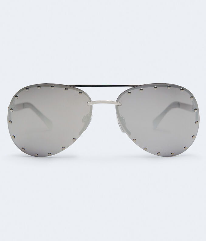 4fb516cd60138 Images. Clearance. Studded Aviator Sunglasses