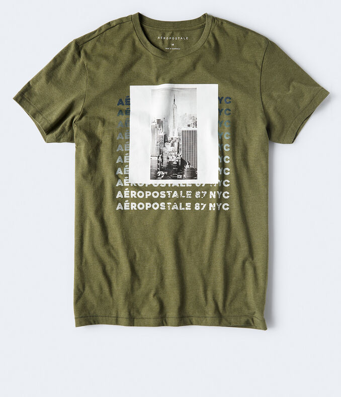 Aeropostale 87 NYC Graphic Tee***