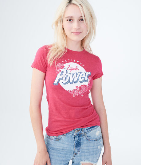 Free State Patience Equals Power Graphic Tee