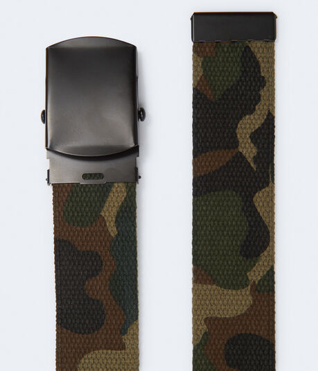 Camo Canvas Belt