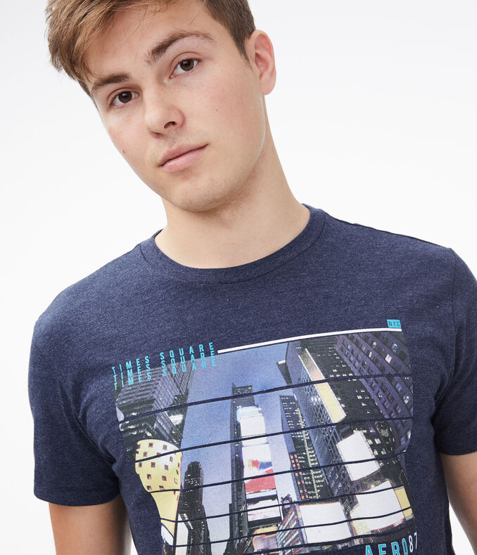 Times Square Graphic Tee