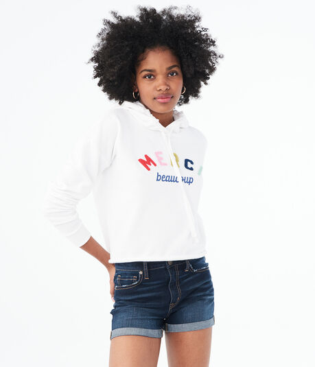 Merci Beaucoup Pullover Hoodie