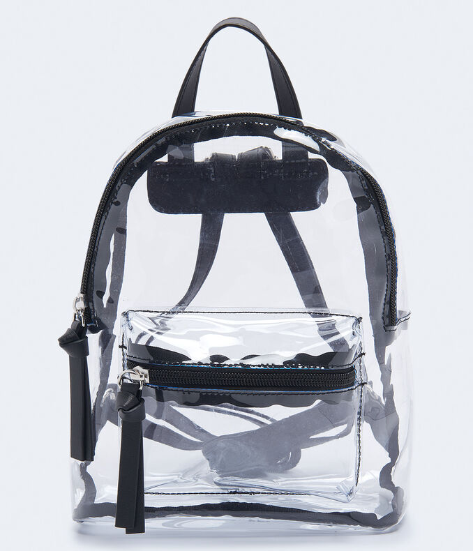 ac1413208 Images. Clearance. Clear Mini Backpack