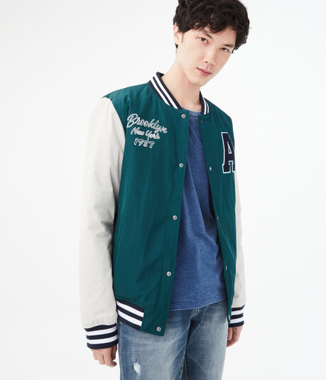 Brooklyn Varsity Bomber Jacket