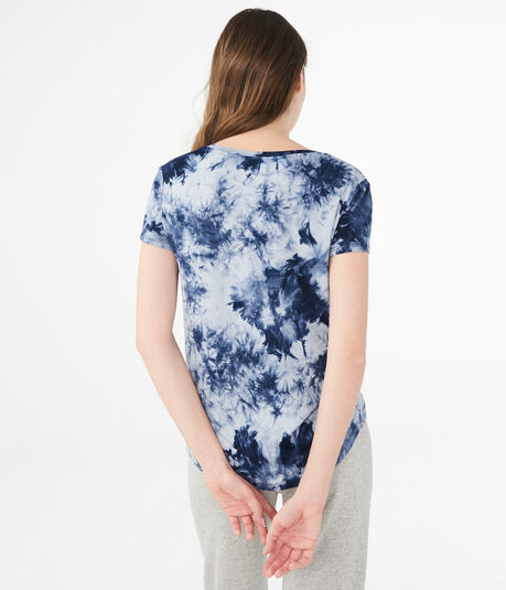 Seriously Soft Tie-Dye V-Neck Tee