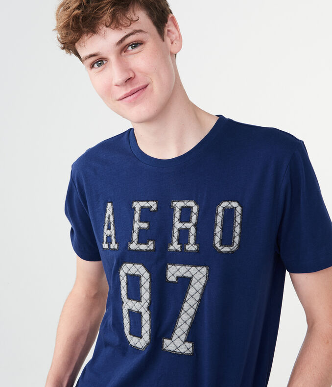 Quilted Aero 87 Graphic Tee