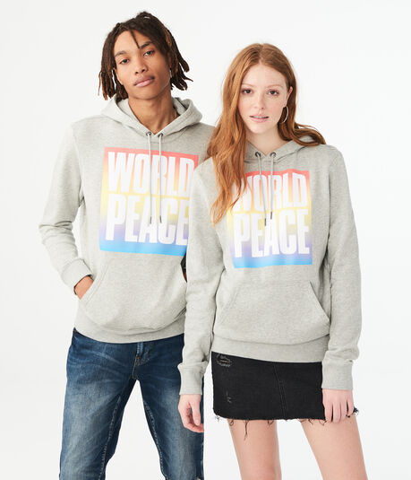 Aero One World Peace Pullover Hoodie