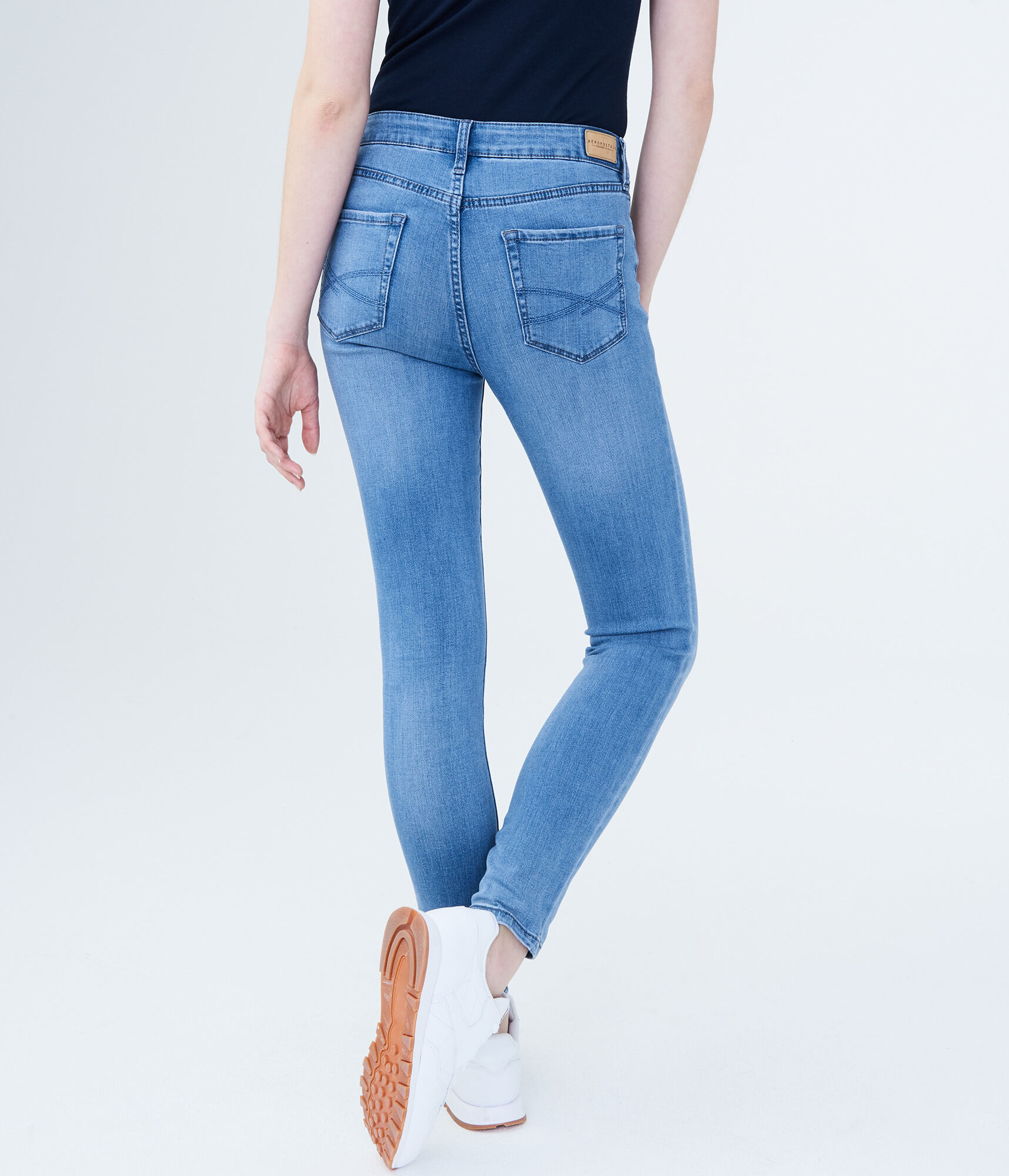 5ccfcdf0136 Seriously Stretchy High-Waisted Jegging