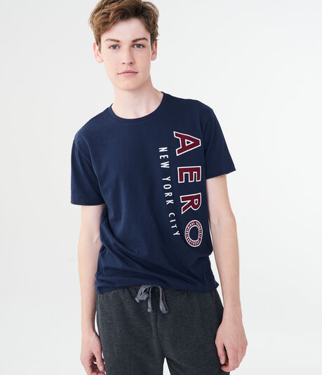 Vertical Aero New York Logo Graphic Tee