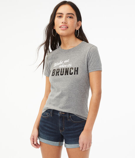 Wake Me When It's Brunch Graphic Tee