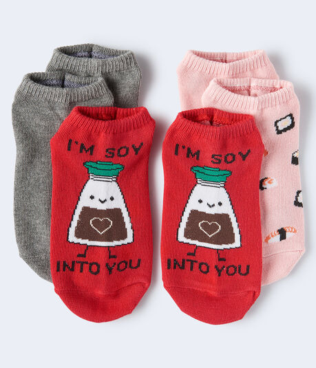 Soy Into You Ankle Sock 3-Pack