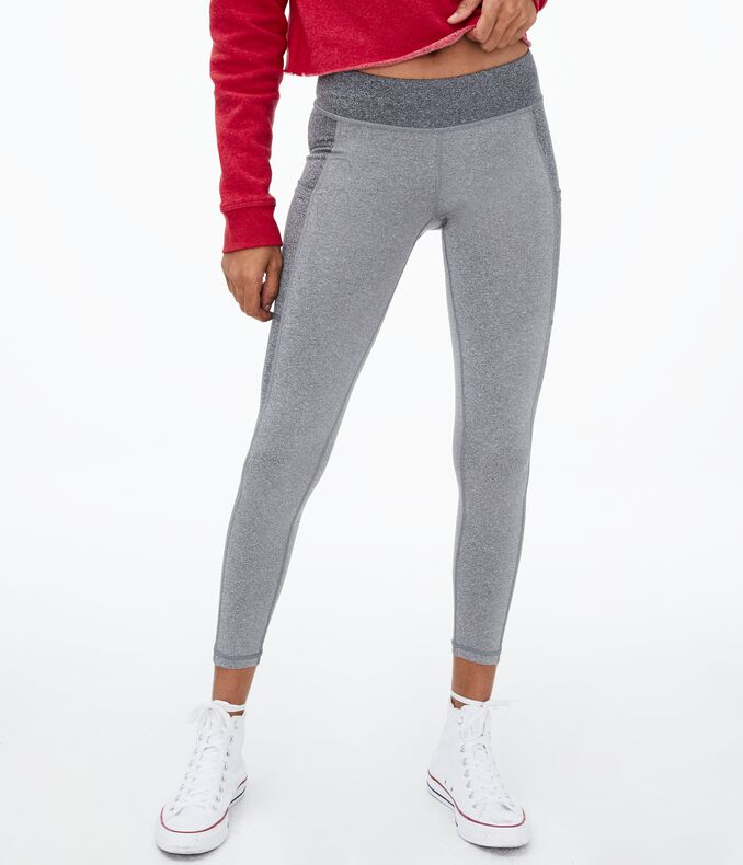 Colorblocked Pocket Leggings