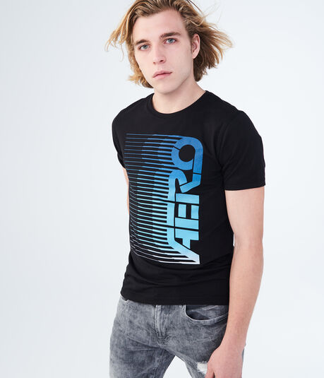 Vertical Aero Stretch Graphic Tee