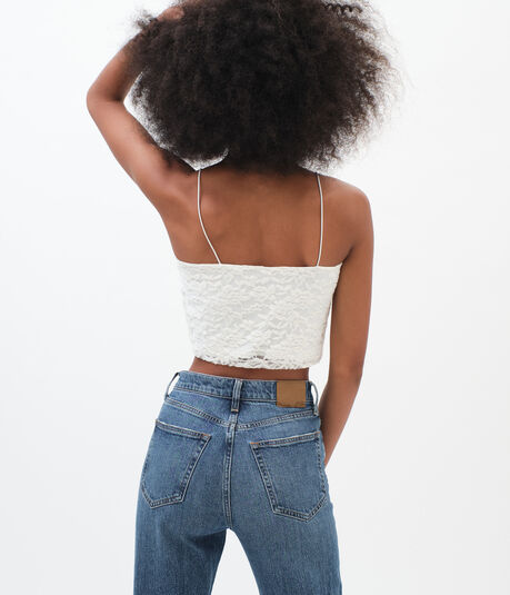 Lace Cropped Cami***