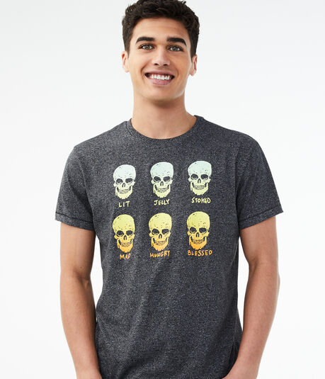 Happy Skulls Graphic Tee
