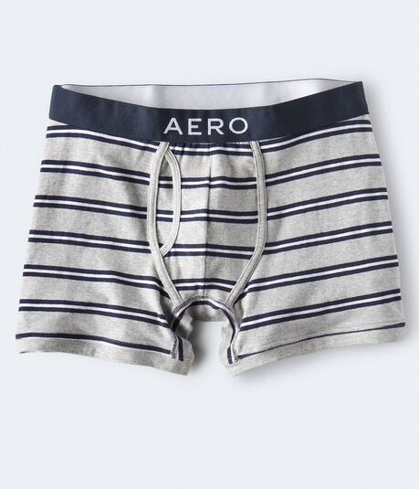 Outlined Stripe Knit Boxer Briefs