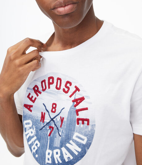 Aeropostale City Circle Graphic Tee