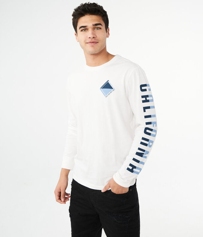 Long Sleeve California Graphic Tee by Aeropostale