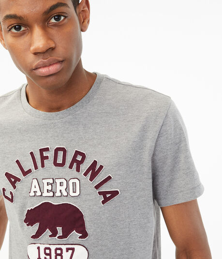 California Aero Bear Graphic Tee