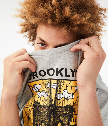 Free State Brooklyn Clouds Graphic Tee