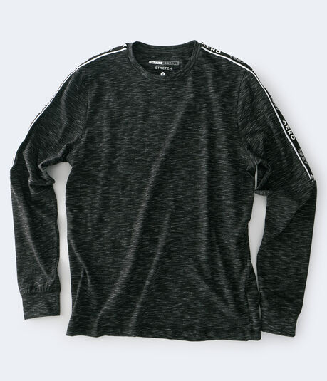 Long Sleeve Retro Sport Streaky Stretch Tee