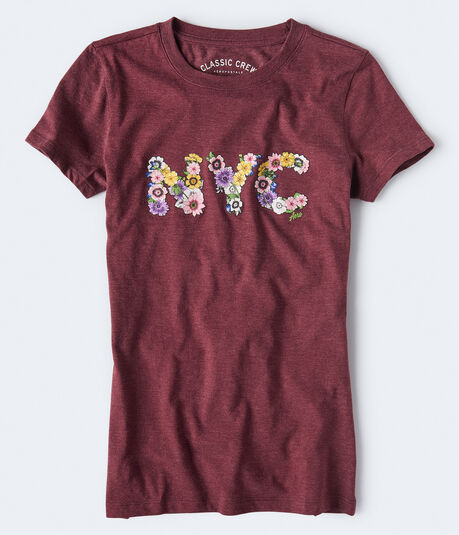 Blooming NYC Graphic Tee