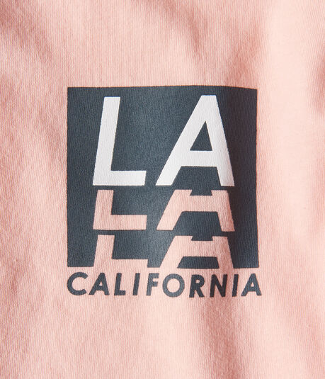 Long Sleeve LA California Graphic Tee