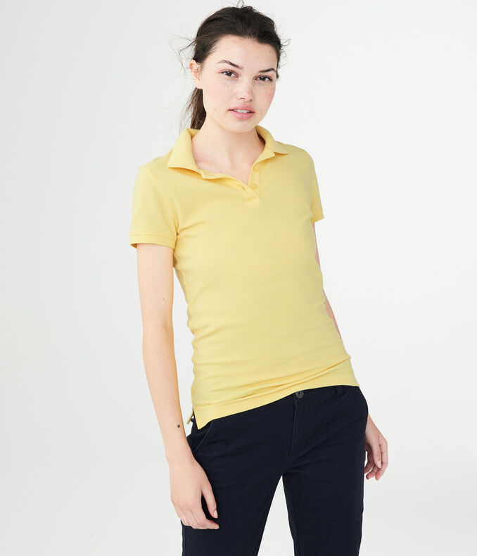 020422a9 Women's Uniform Piqué Polo | Aeropostale