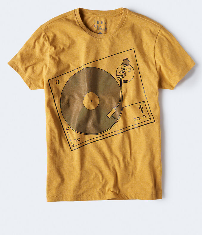 Free State Record Player Graphic Tee