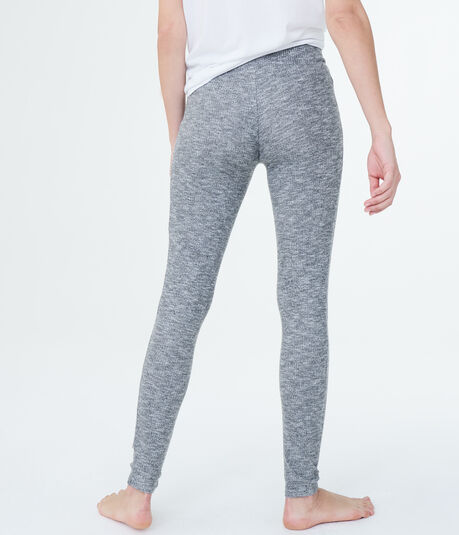 LLD Space-Dye Ribbed Leggings