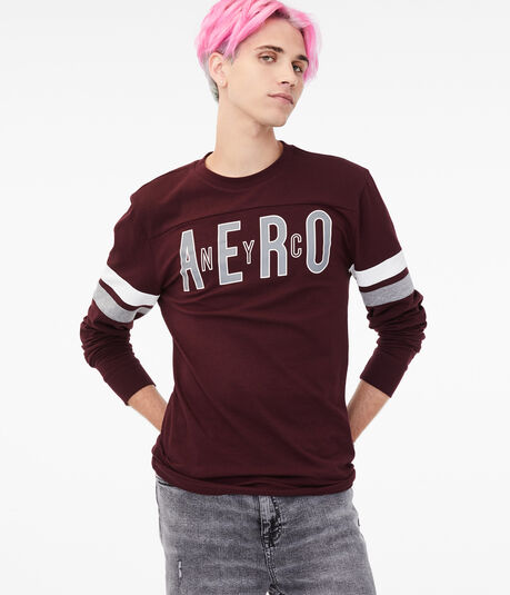 Long Sleeve Aero NYC Stretch Graphic Tee