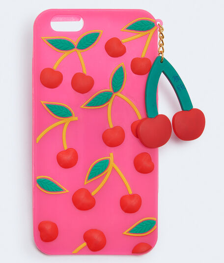 Cherry Rubber iPhone Case***