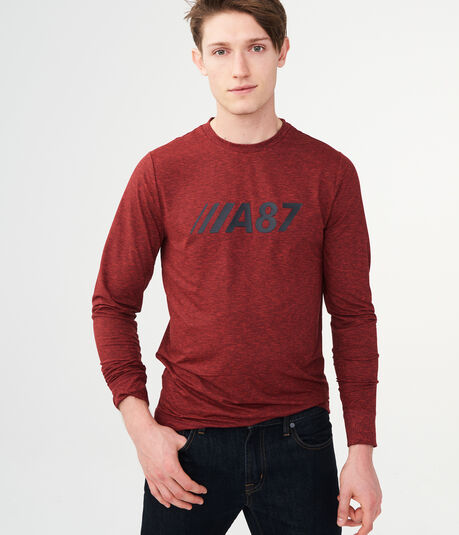 Long Sleeve A87 NYC Stretch Graphic Tee