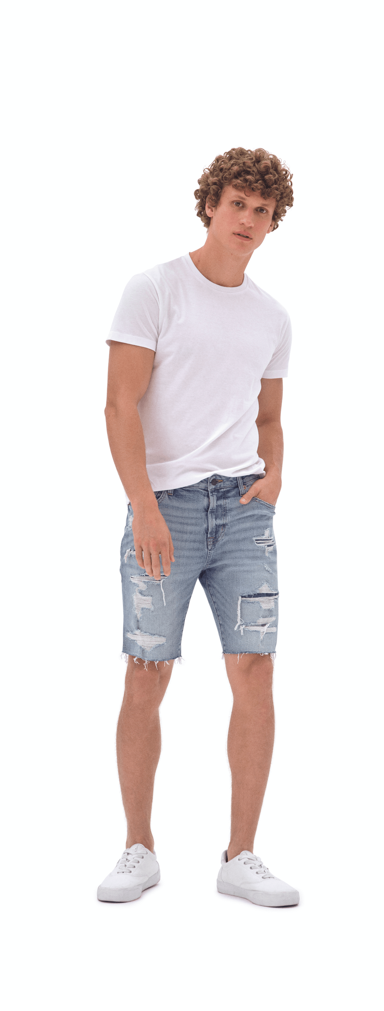 Denim Slim Cut-Off