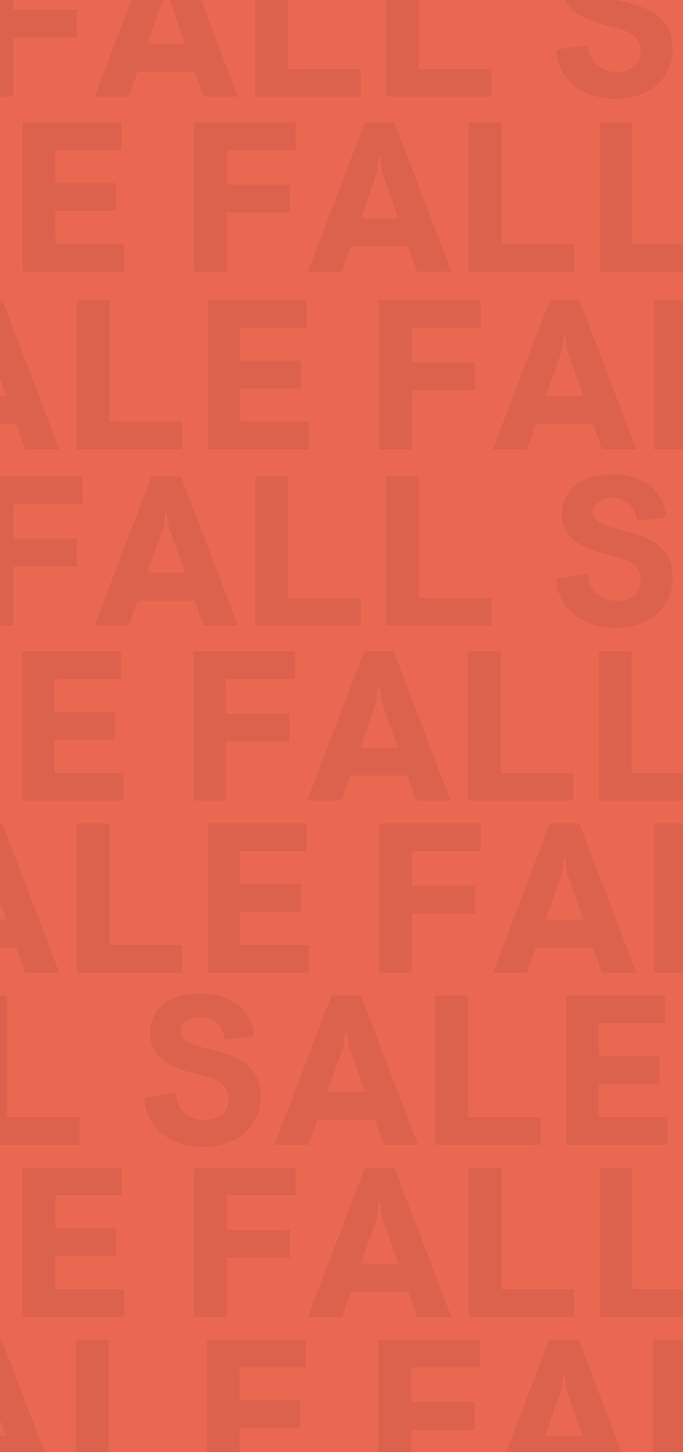 Fall Sale New Arrivals