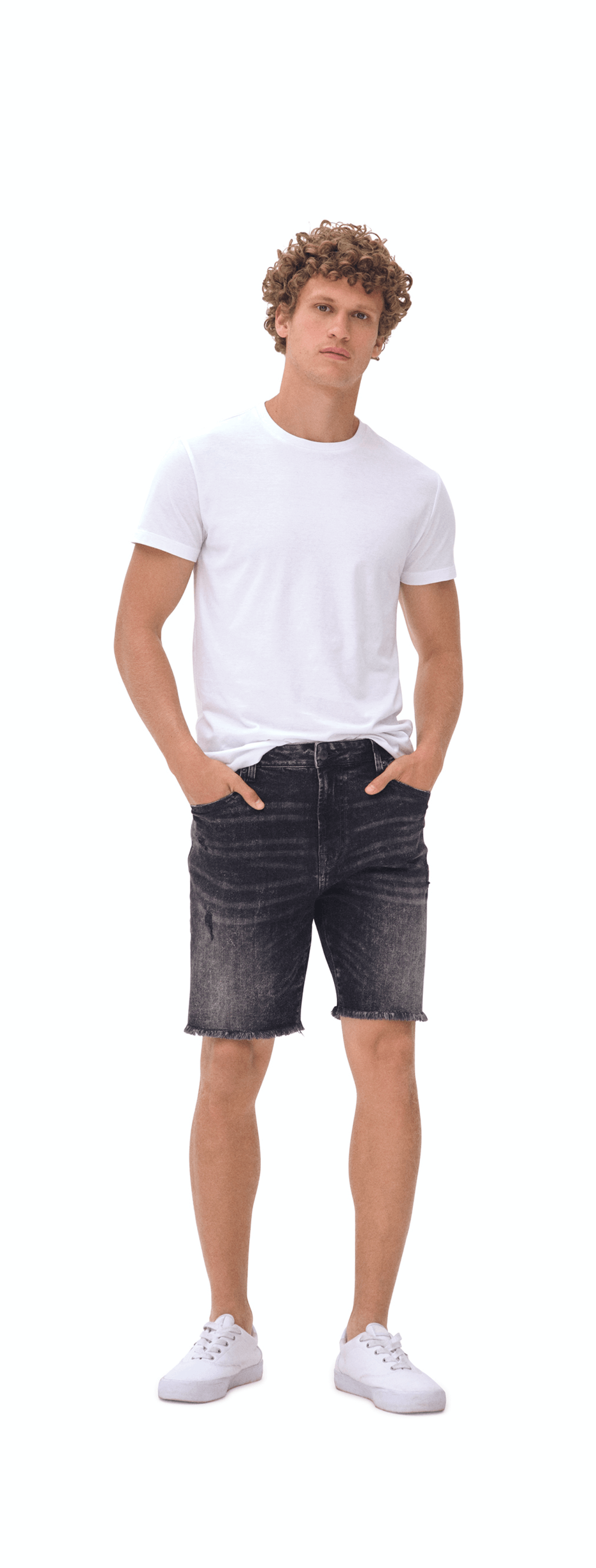 Denim Athletic Cut-Off