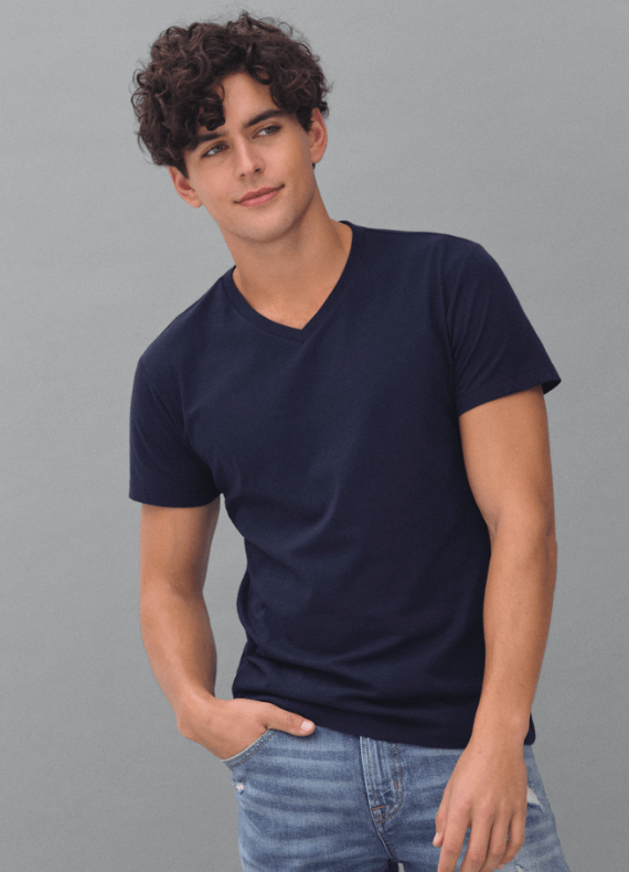 4 Aeropostale Boys Shred All Day Everyday Graphic T-Shirt Blue