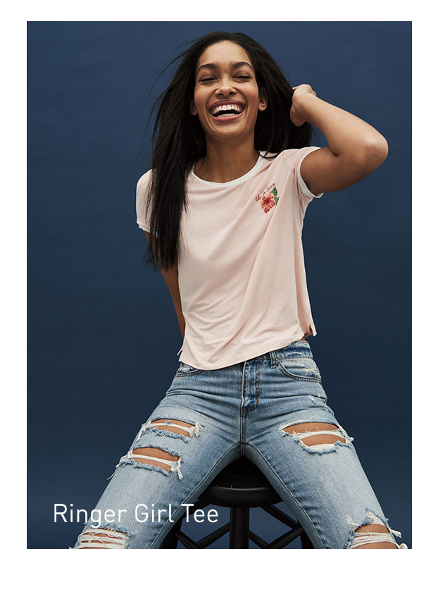 Ringer Girl Tees