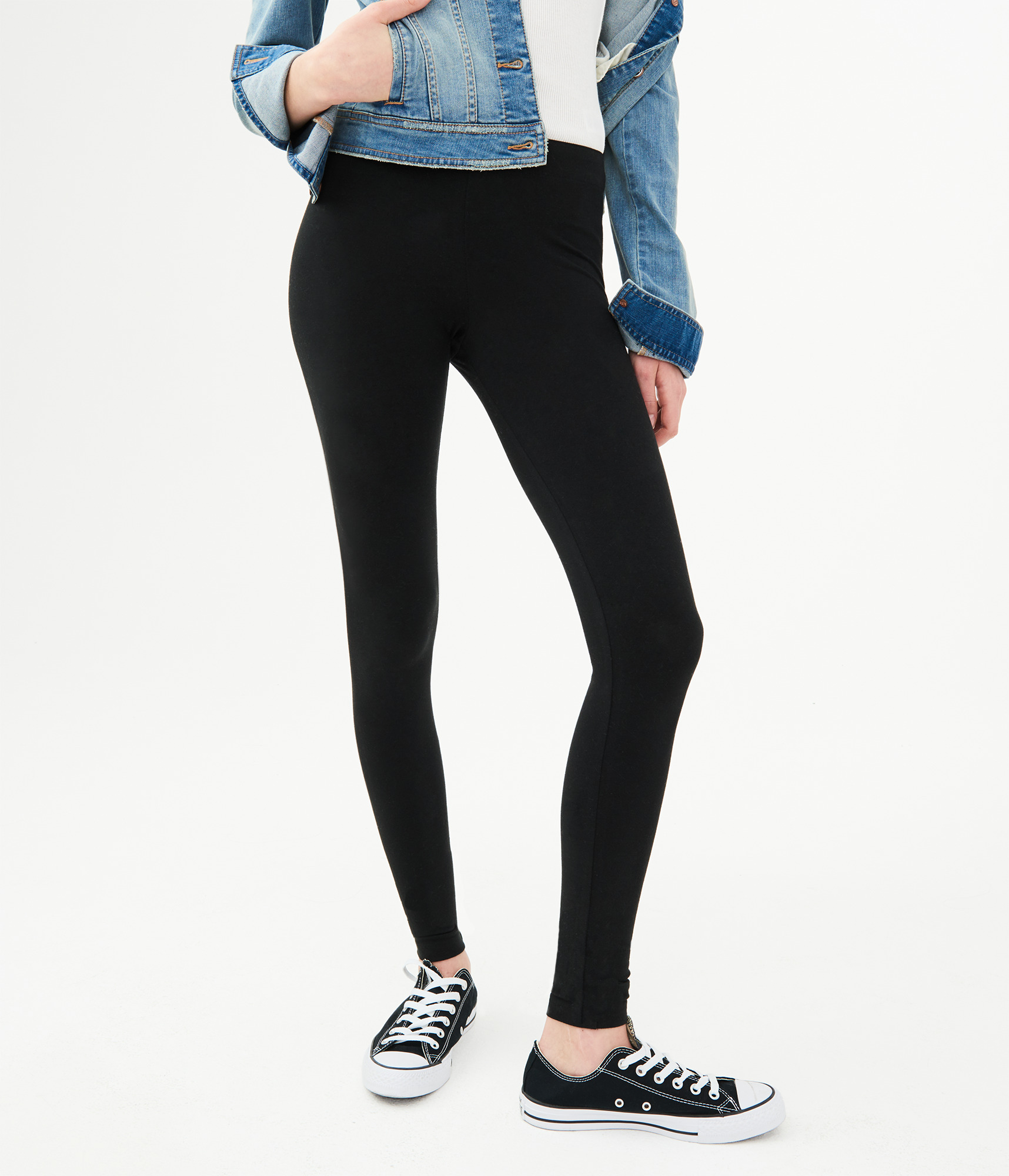 feae5295ba147 Classic High-Waisted Leggings