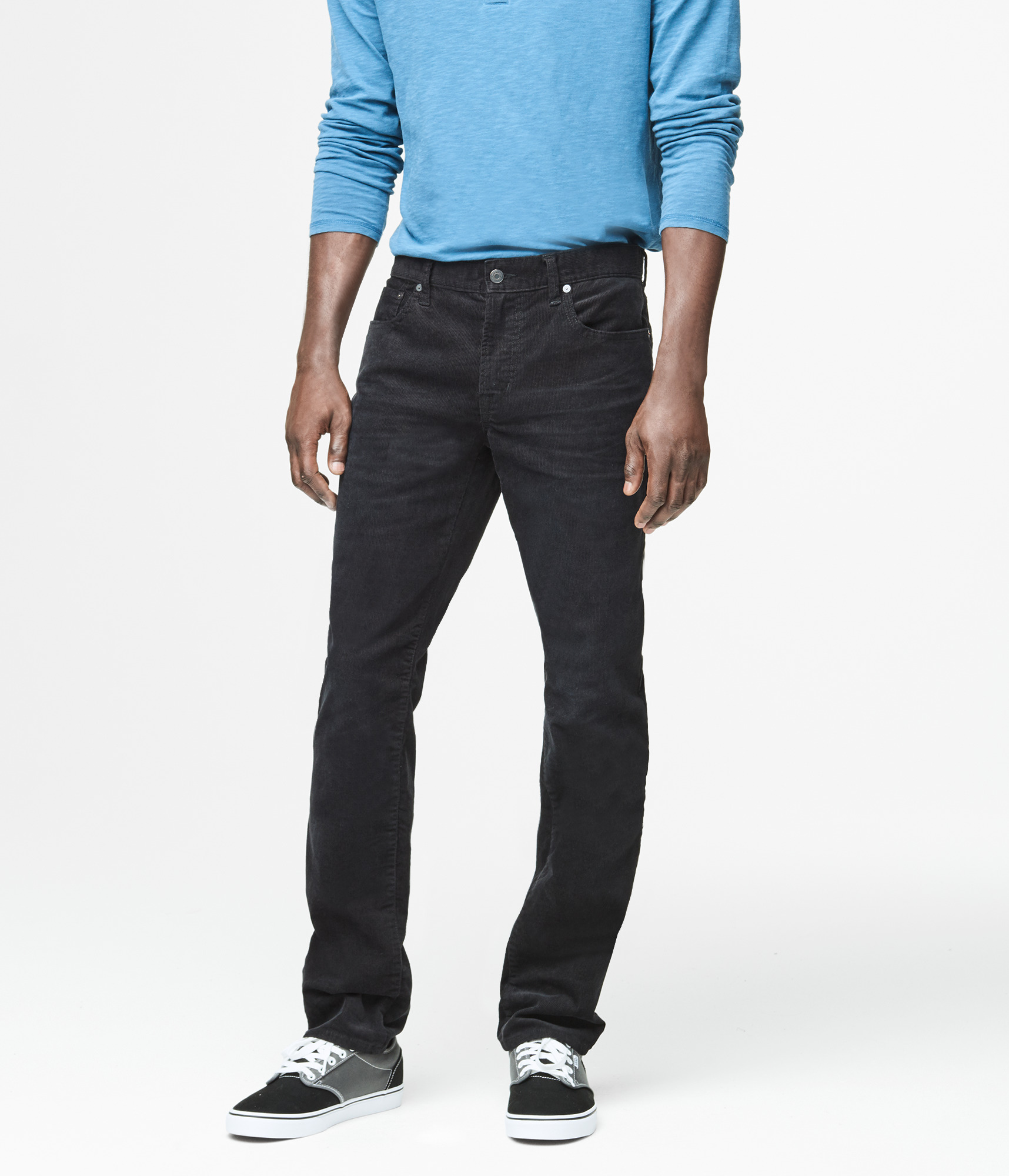 Men's Corduroy Skinny Fit 5 Pocket Jean. from $ 16 81 Prime. out of 5 stars U.S. Polo Assn. Boys' 5 Pocket Skinny Fit Twill Pant, from $ 13 99 Prime. True Religion. Women's Halle Super Skinny Crop Capri Corduroy Pants In Carmel. from $ 44 99 Prime. 4 out of 5 stars 1. Jag Jeans.